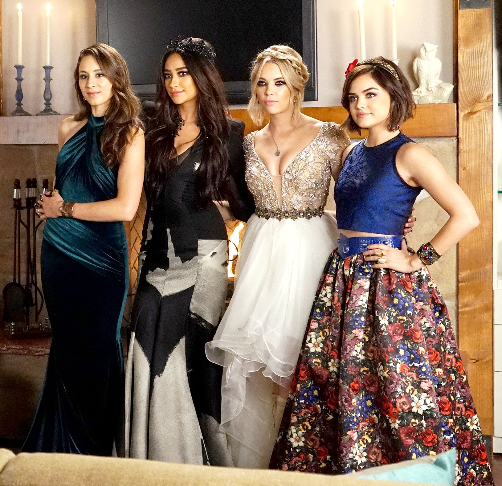 Troian Bellisario, Shay Mitchell, Ashley Benson and Lucy Hale