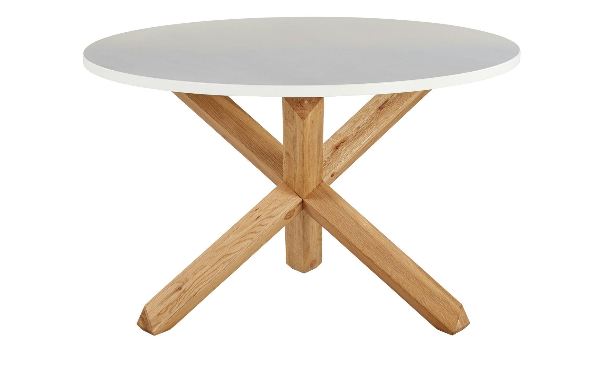 Esstisch Figo Holzfarben Masse Cm H 75 O 120 Tische