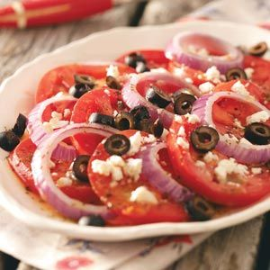 Easy Garden Tomatoes Recipe from Taste of Home -- shared by Heather Ahrens of Columbus, Ohio