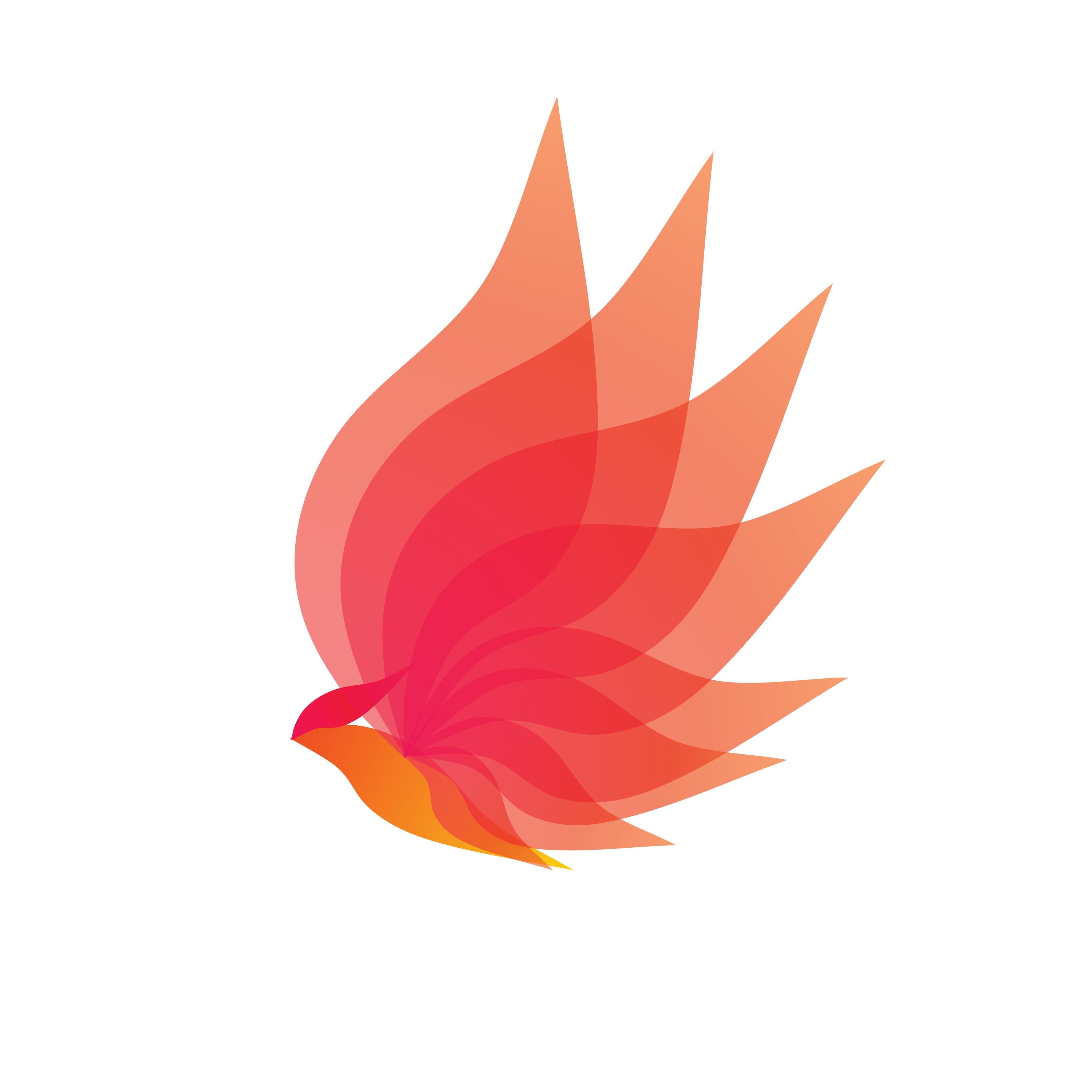 Eternal Flame Logo Phoenix Fire Logo Graphic Design Logo Logo Design Graphic Design