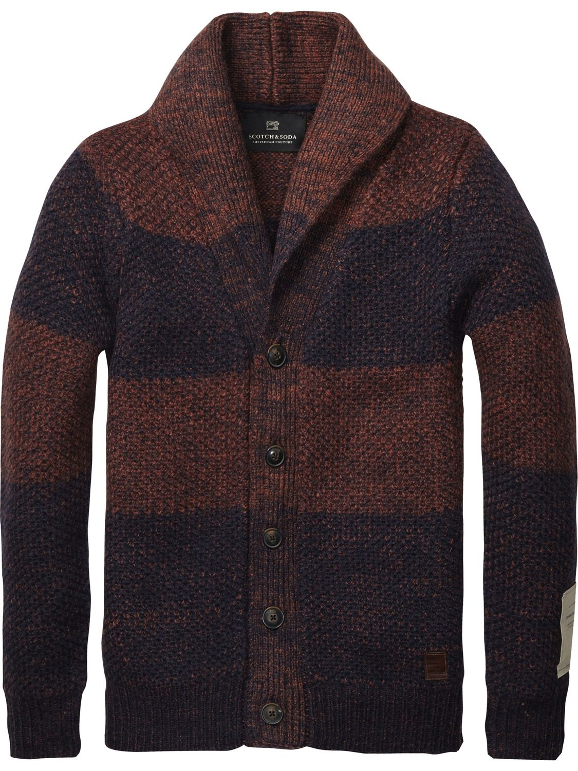 Mohair Structured Cardigan > Mens Clothing > Pullovers at Scotch ...