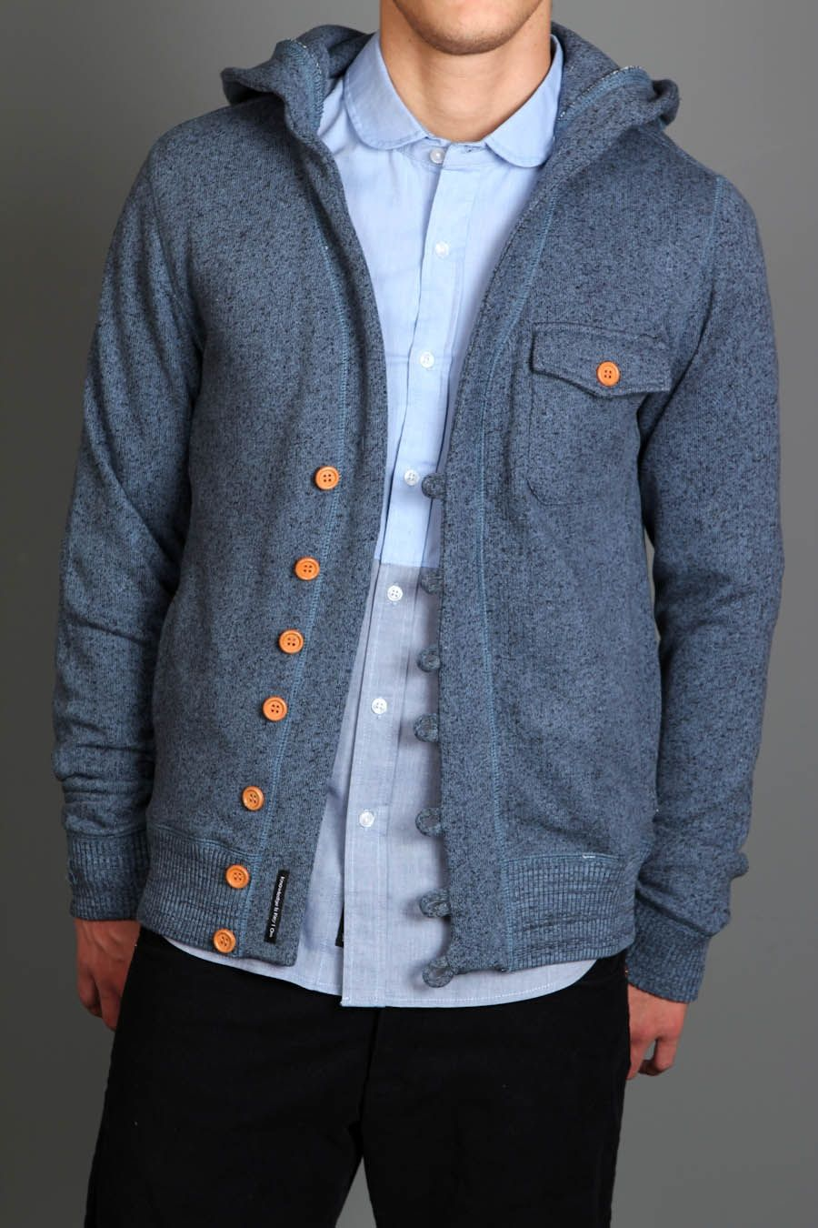ooo I like this. hooded cardigan