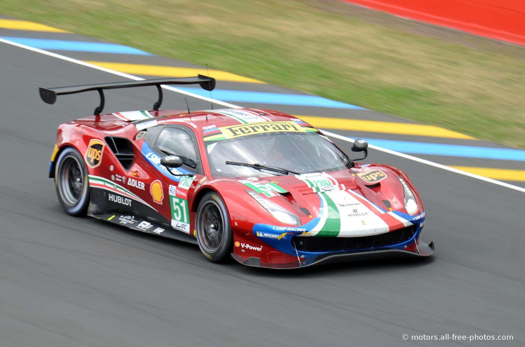 Ferrari 488 Gte Evo Team Af Corse Ferrari Gt Cars New Ferrari