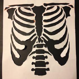 ReV&ed Vintage DIY Halloween Skeleton Costume & ReVamped Vintage: DIY Halloween Skeleton Costume | Creations ...