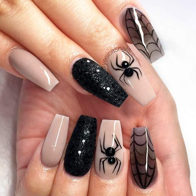 40 Halloween Nails: Spook Designs To Terrify And Delight