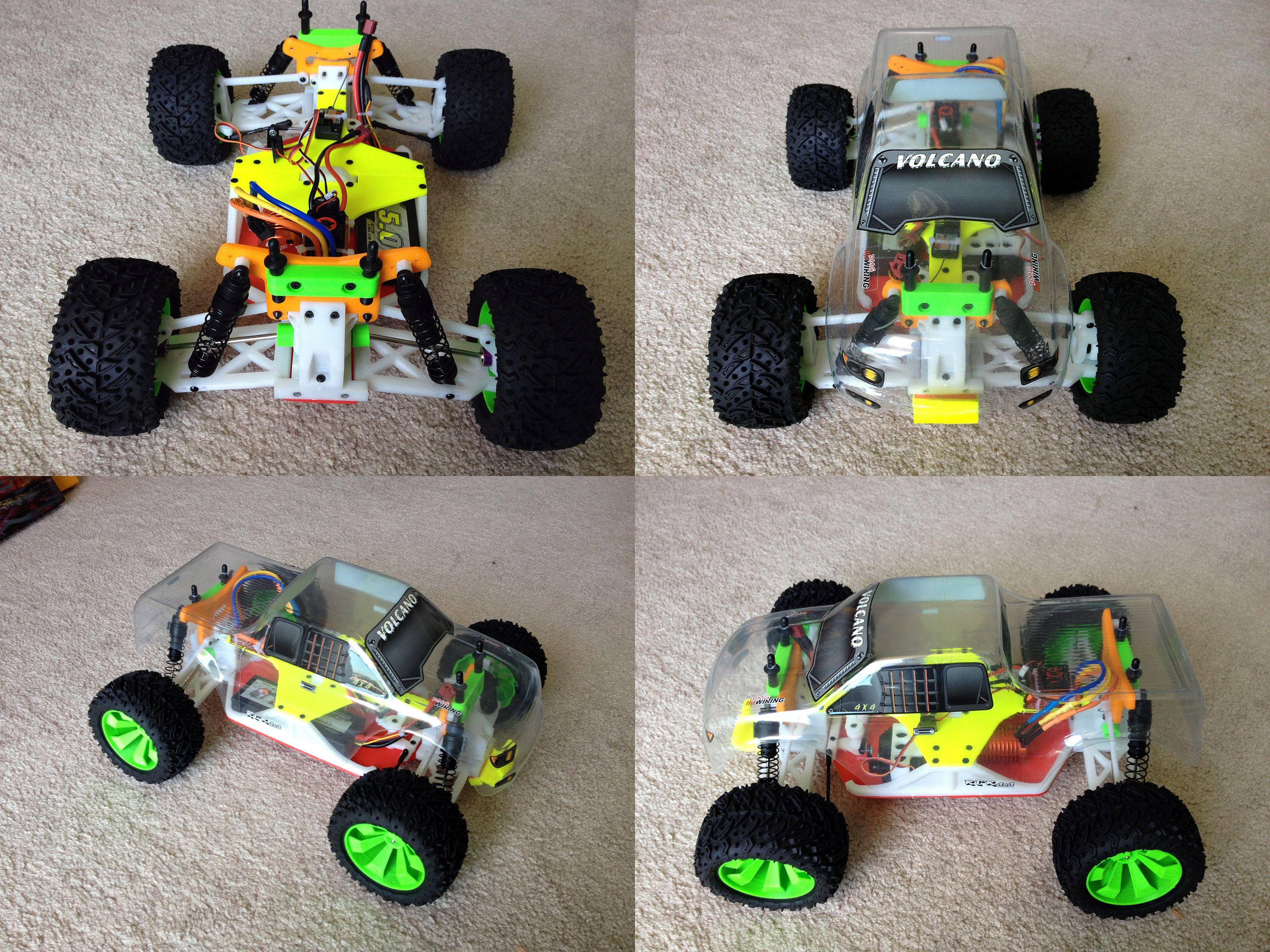 3d Printed Rc Car 3d Printed Objects Prints 3d Printing