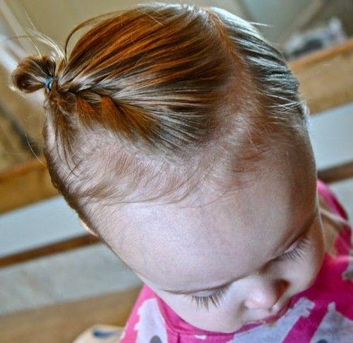赤ちゃんのヘアアレンジ