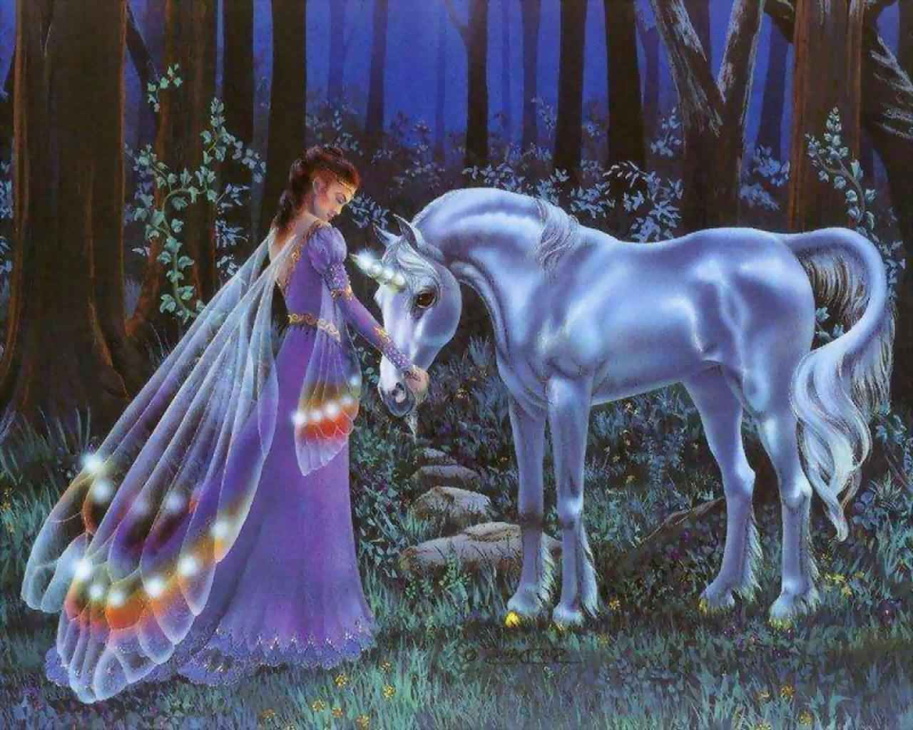 Mystical Fairies | Unicorns Page 1.... Mystical Unicorns ...