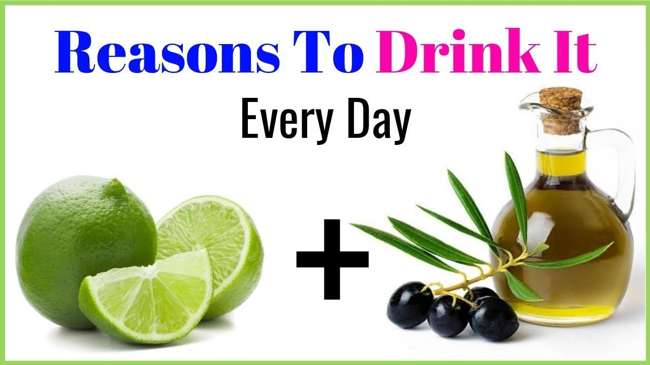 drink lemon juice and olive oil every day for surprising