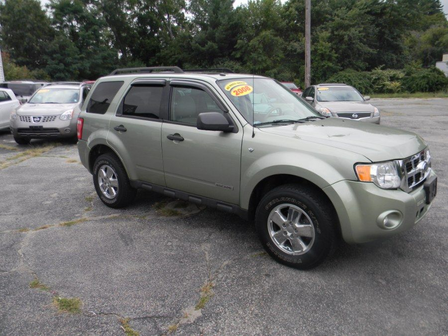 Kiwi Green Metallic 2008 Ford Escape 4wd 4dr V6 Auto Xlt Billerica