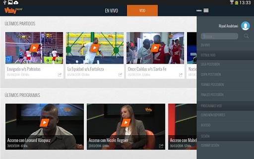 Win Sports es un canal de deportes Colombiano, presenta el Campeonato Nacional de Fútbol y otra variedad de programas como Noticias de Deporte, Programas de Entrevista y Análisis del Fútbol. Con la aplicación, los usuarios pueden disfrutar la señal en vivo todo el día y ver contenido VOD de juegos y programas.  http://Mobogenie.com