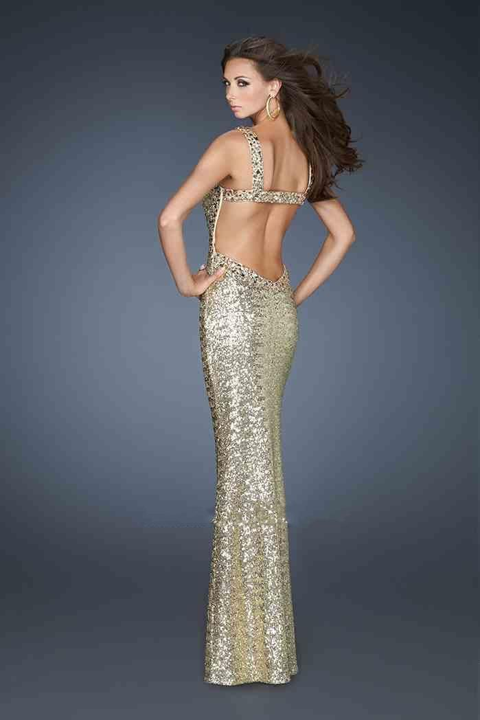 Long Square Dress By La Femme 18450 Hot Dresses Fast Shipping Prom
