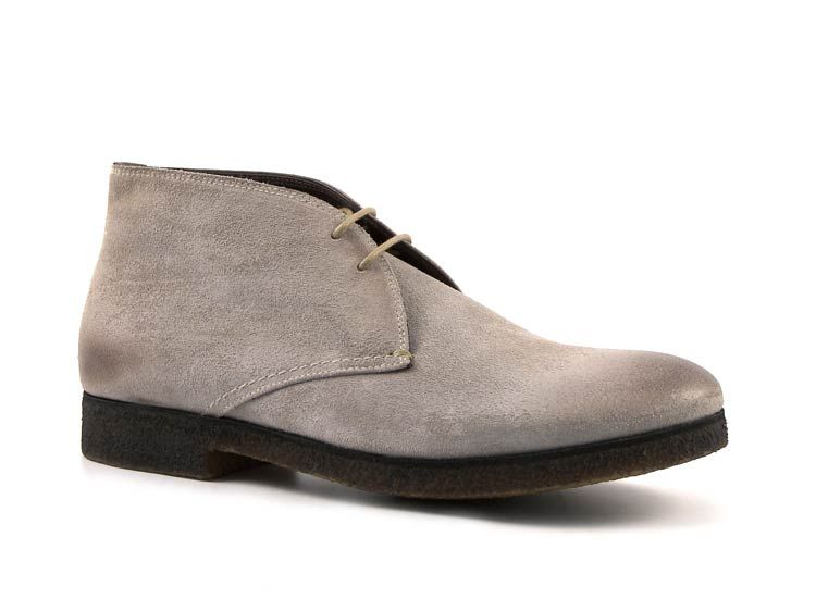 buy discount Men's Gray Ankle Boots mens gray Car Shoe Mens boots