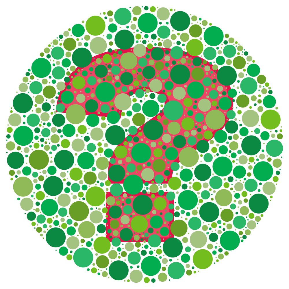 Red-green colorblindness gene (and hemophilia): lies on the X ...