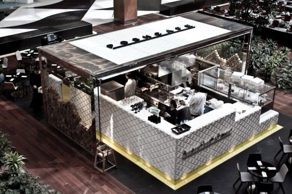 Caffee in Kuwait by Architect Jassim Alshehad