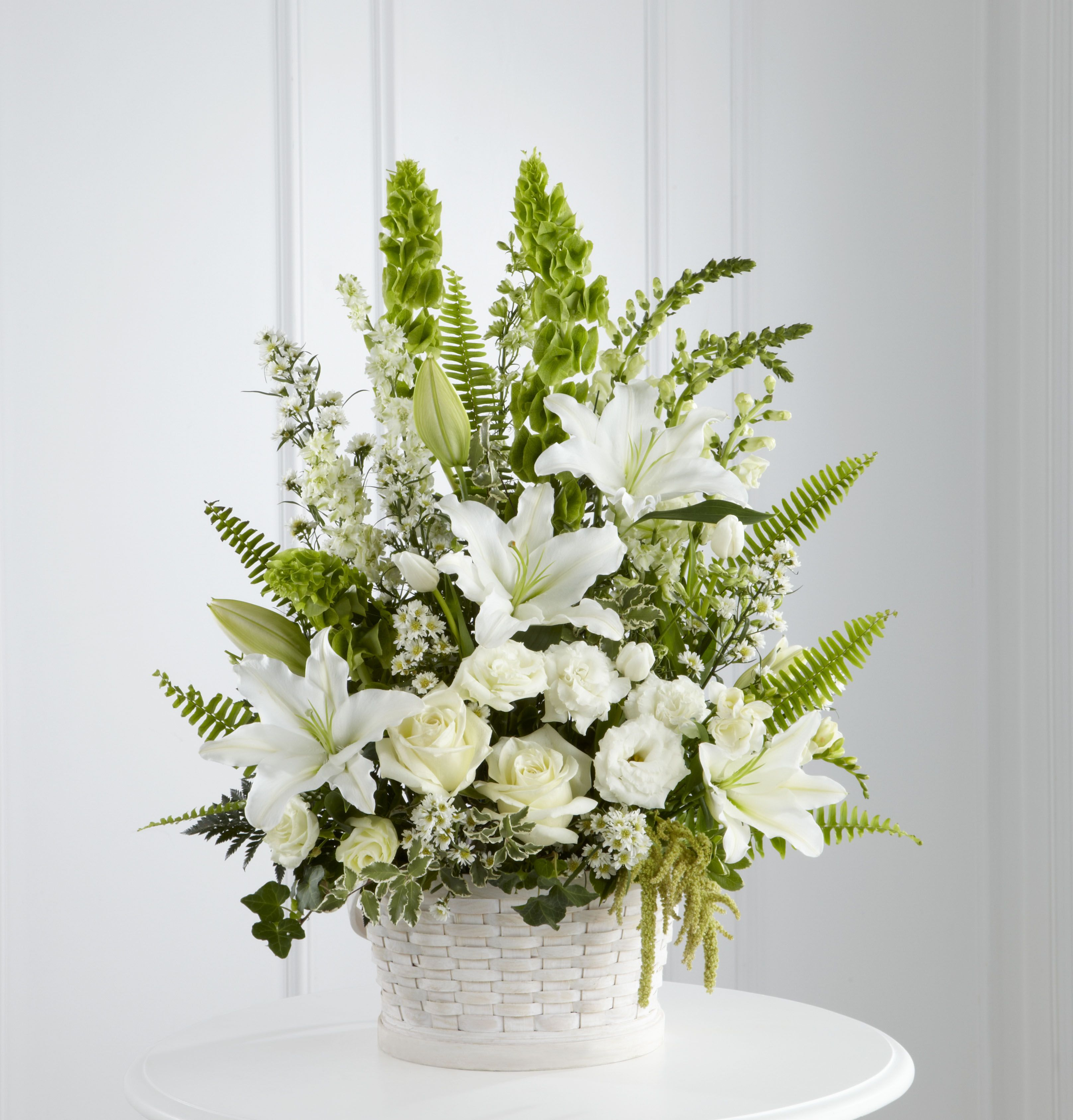Funeral Flower Basket In Our