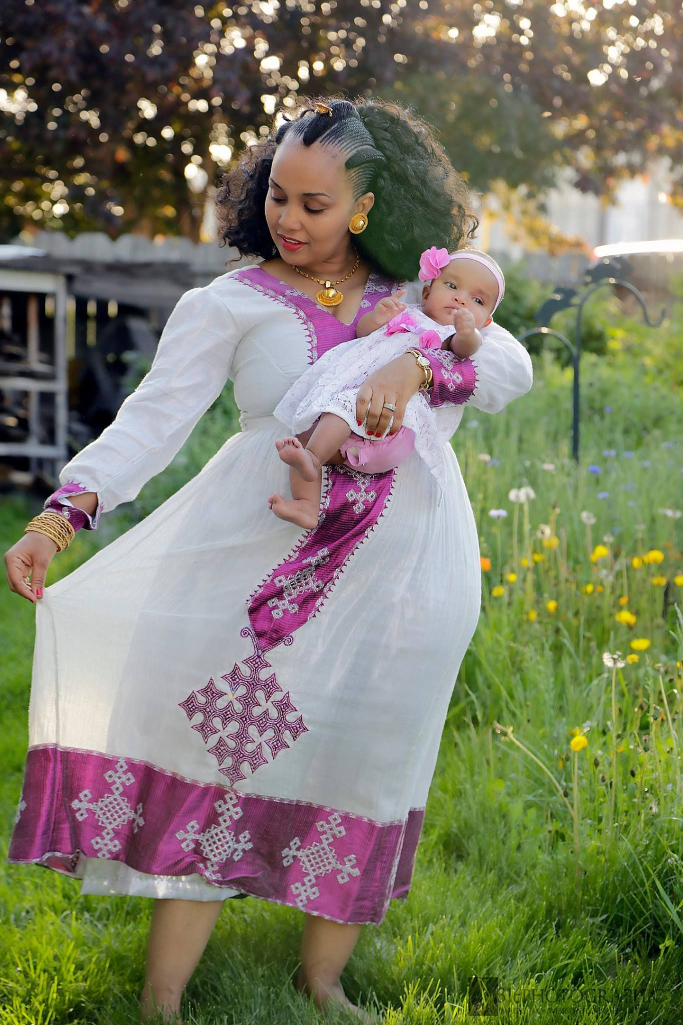 Ethiopian Traditional cotton made clothing. | your traditional ...