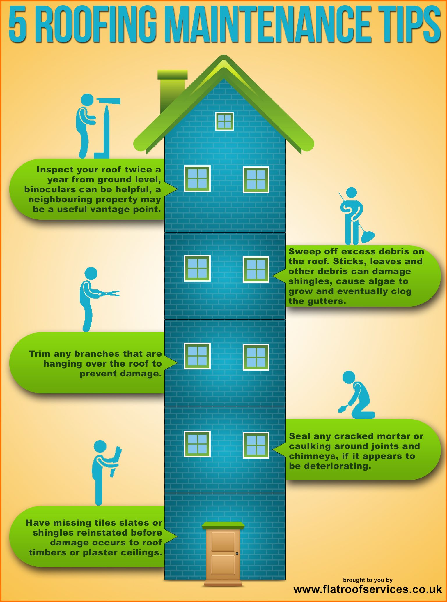 Image result for Roof Maintenance infographics