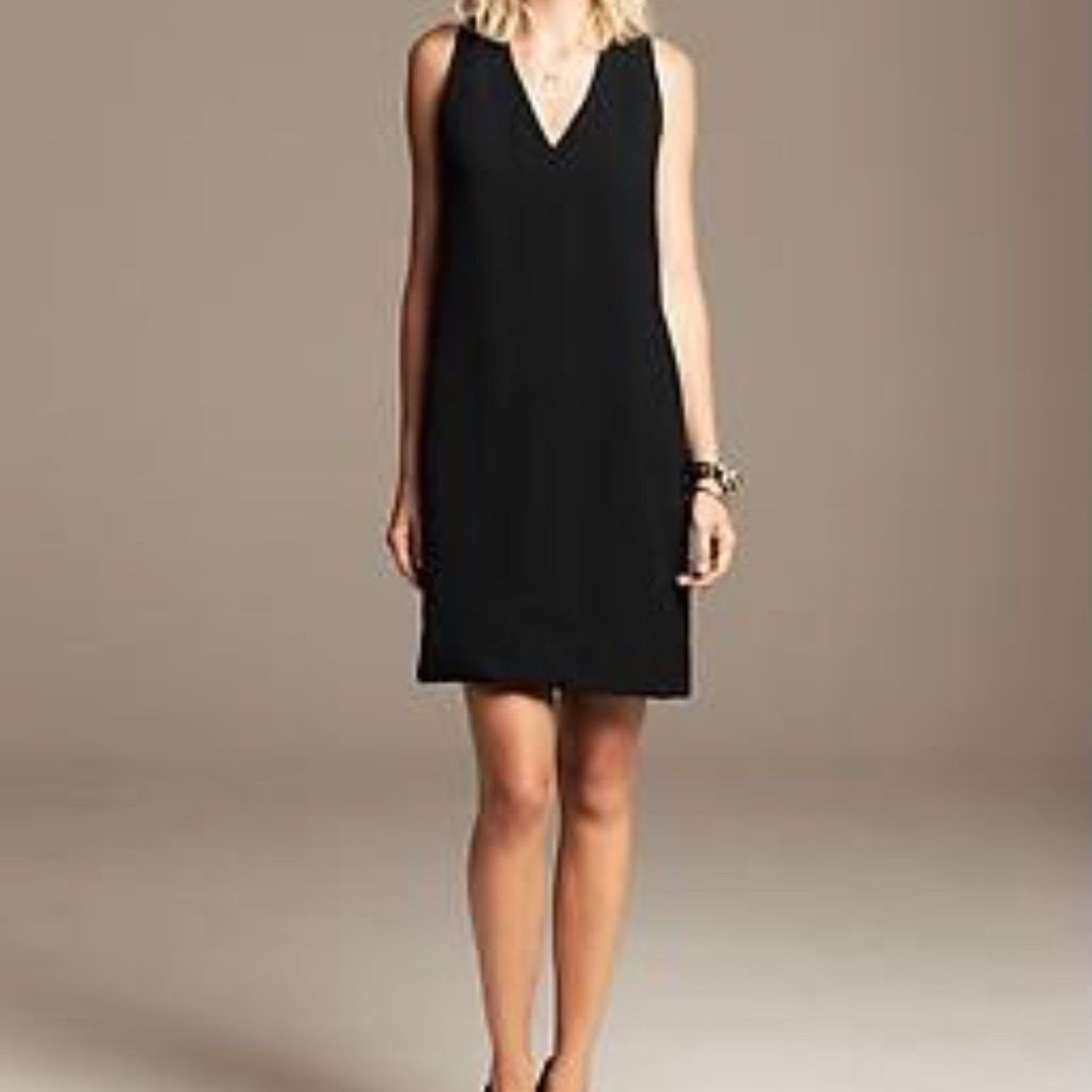 2fb7537ecc8 Banana Republic Black Dress Size 2