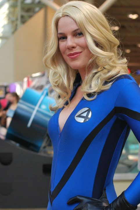 Invisible woman fantastic four cosplay pinterest la - Femme invisible 4 fantastiques ...