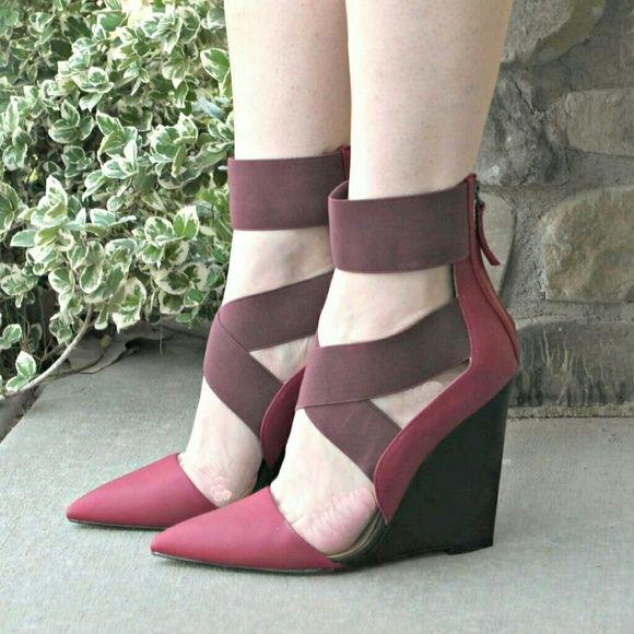 GX by Gwen Stefani black zipper heels VGUC Size 10