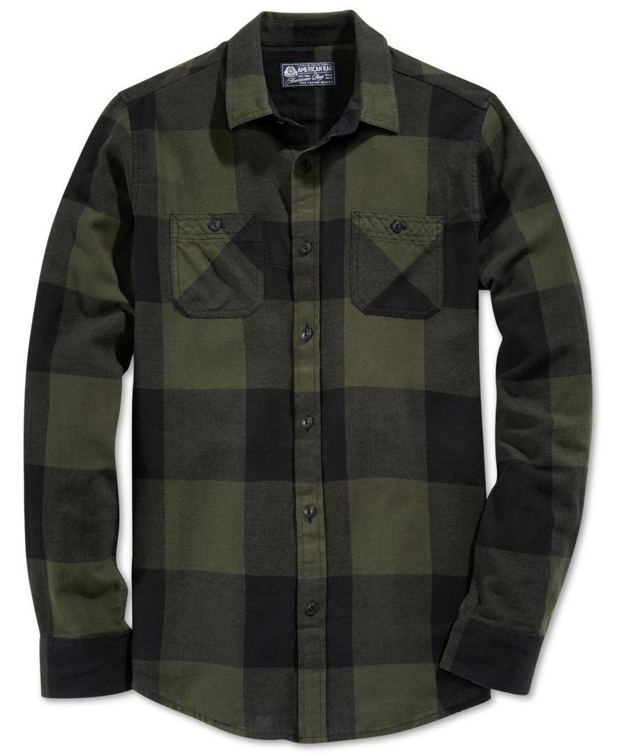 Dickies Portland Shirt Checked Fleece Lumberjack Style Green FREE HAT