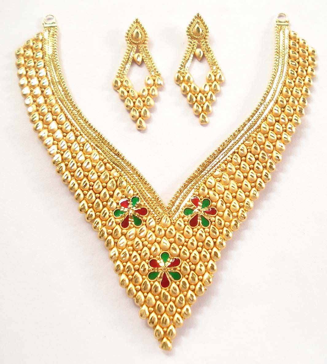 Gold necklace designs with price in rupees jewelry gallery - Gold Gold Necklace Designs