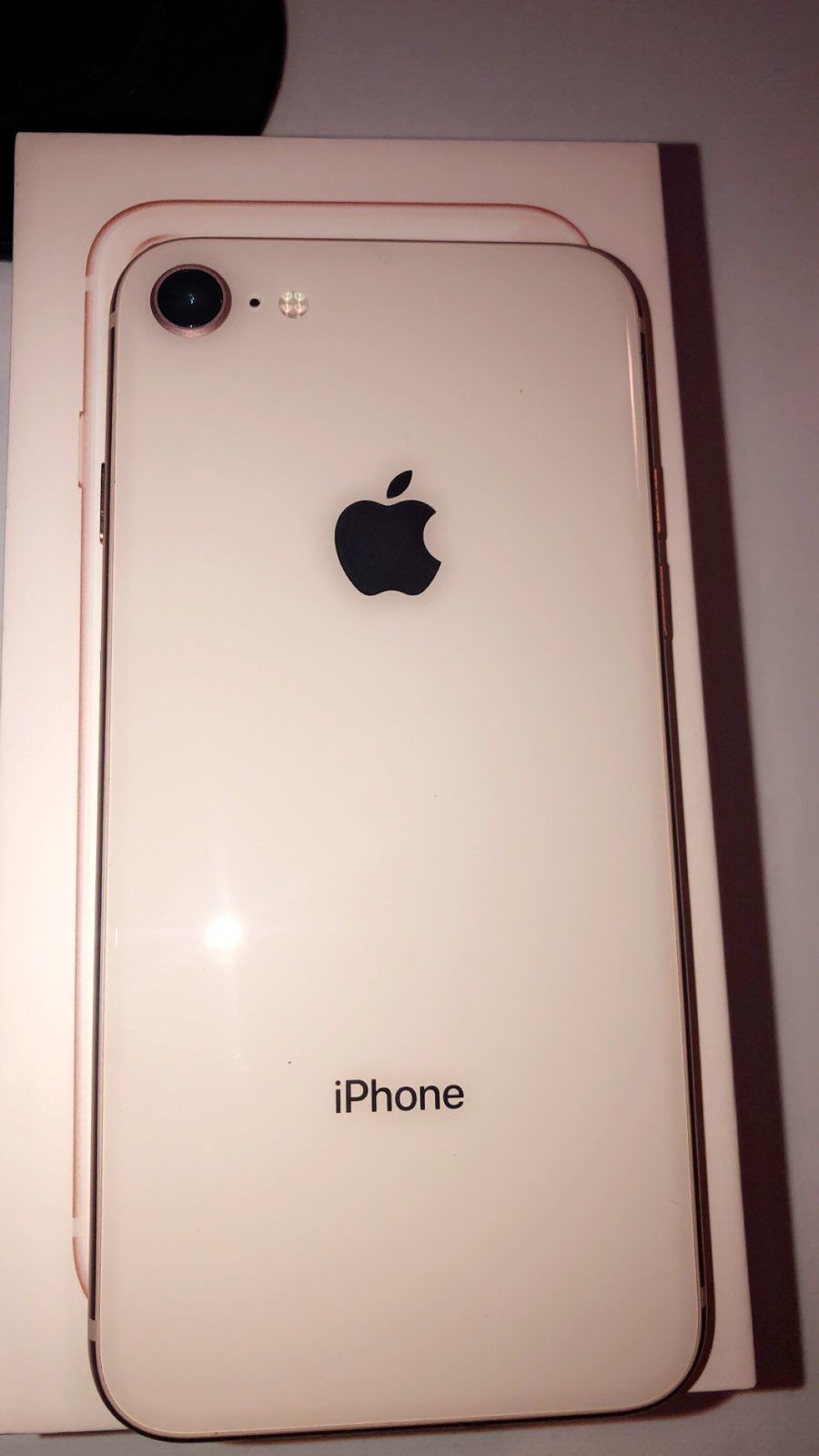 Rose Gold Iphone 8 Like New I Have Used For About Two Months Has Had A Case And Screen Protector On Since First Day Of Iphone Rose Gold Iphone Apple Smartphone