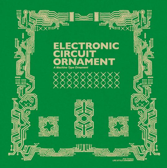 Electronic Circuit Ornament
