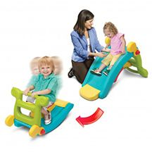 Our 2-in-1 Slide to Rocker won the Seal of Approval from TNPC in Spring 2014.