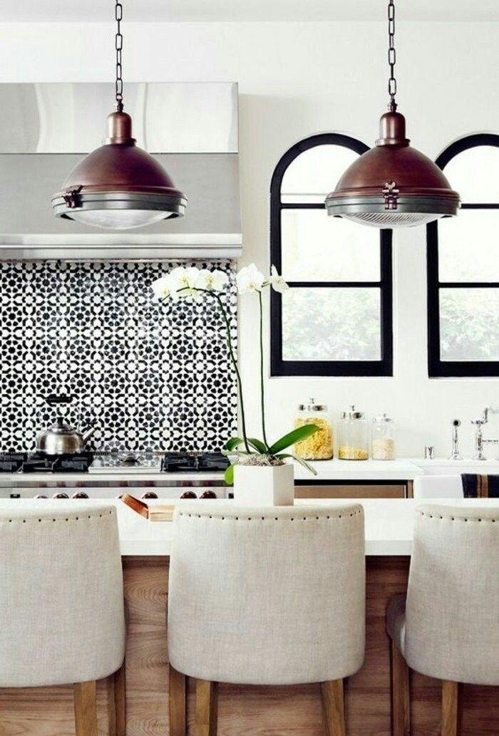 Epingle Par Sylvie Themens Sur Kitchen Cuisine Moderne Chaise