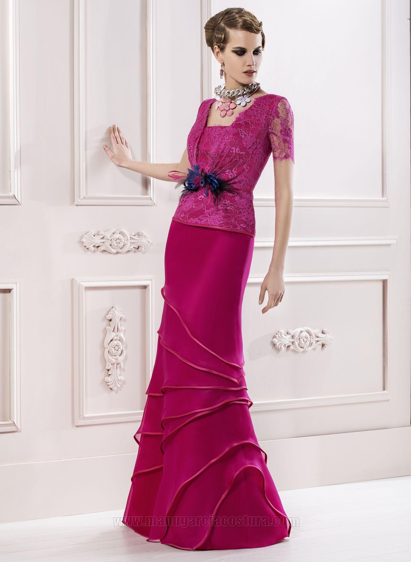 Vestidos de fiesta 2014 | Manu Garcia | Vestidos Elegantes ...