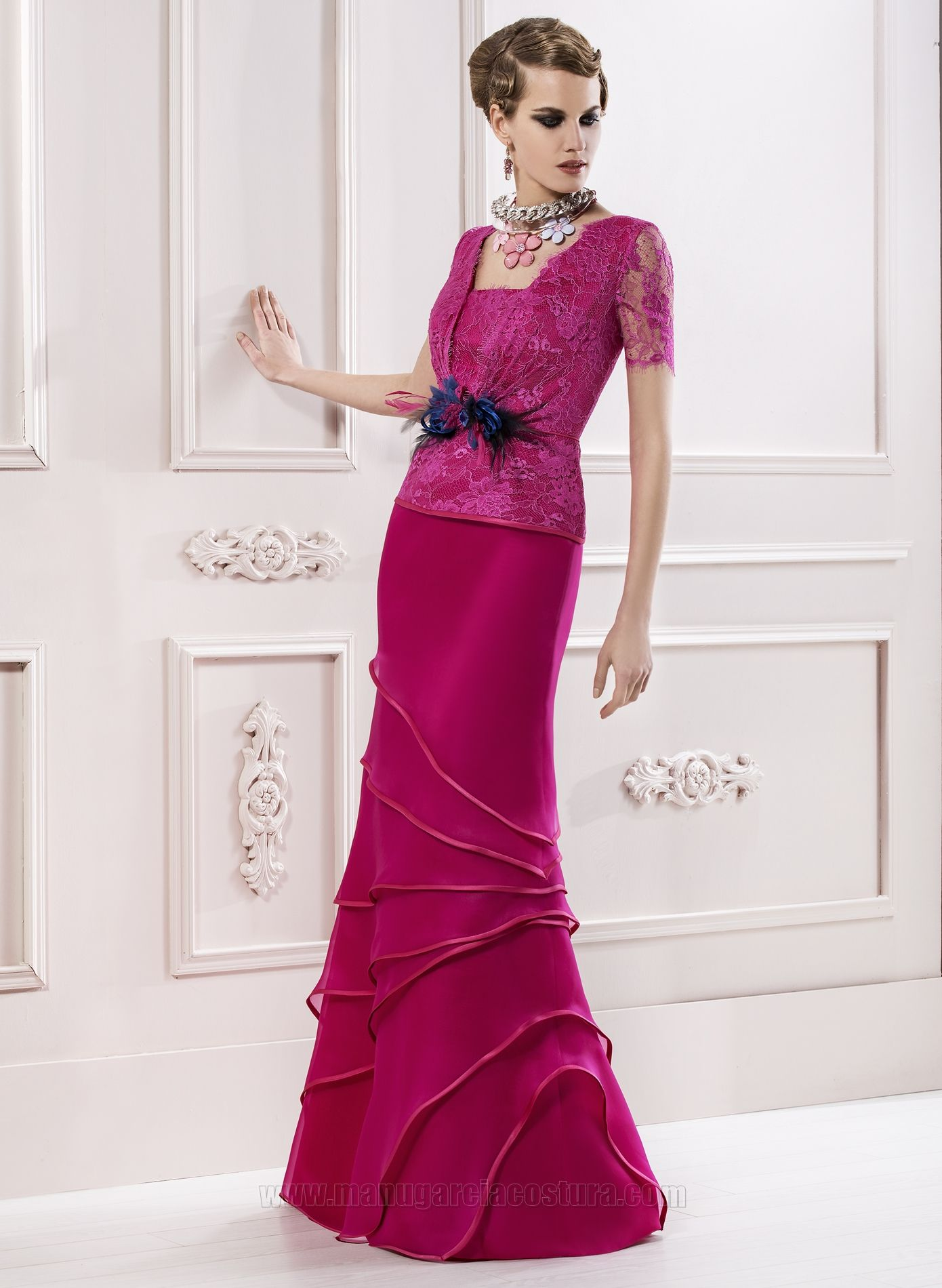 Vestidos de fiesta 2014 | Manu Garcia | MANU GARCIA | Pinterest ...