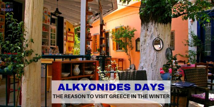 Alkyonides Days - weather in Greece #visitgreece