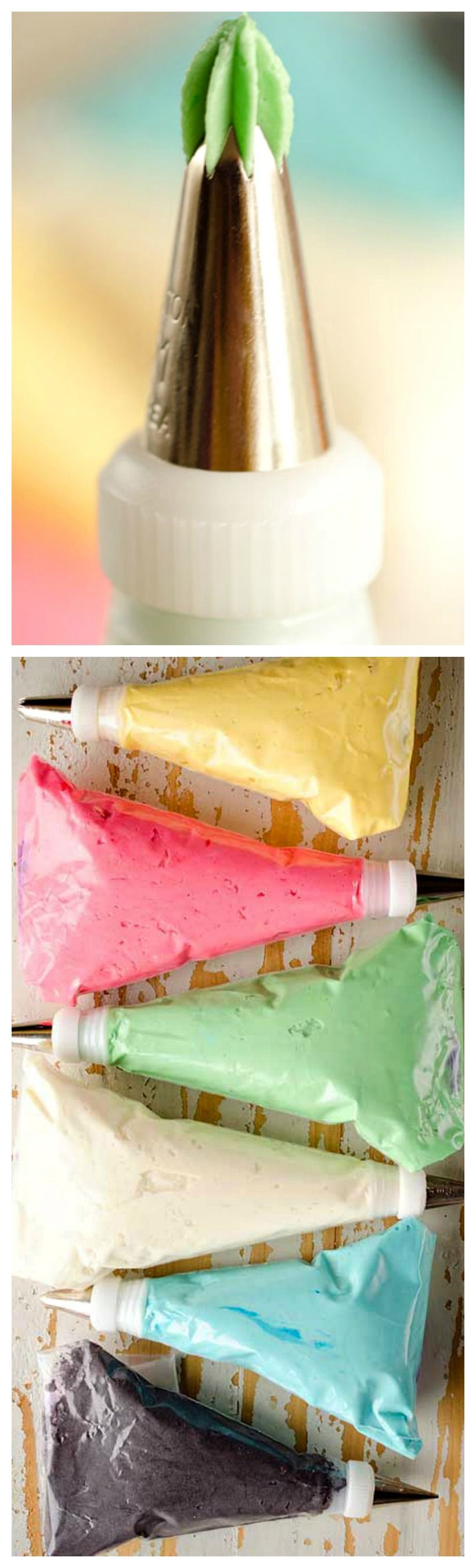 Perfect Piping Buttercream ~ The absolute best recipe for ...