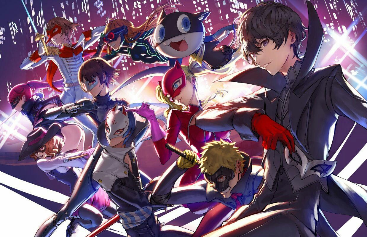 Pin By Joel Roasrio On Persona With Images Persona 5 Persona