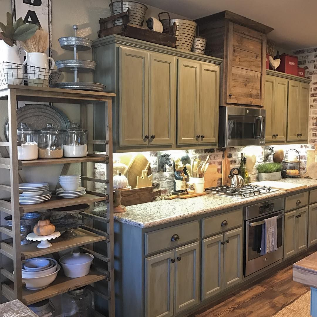 Küchenideen bauernhaus kitchen decor apartment contact paper kitchen decor shelves glass