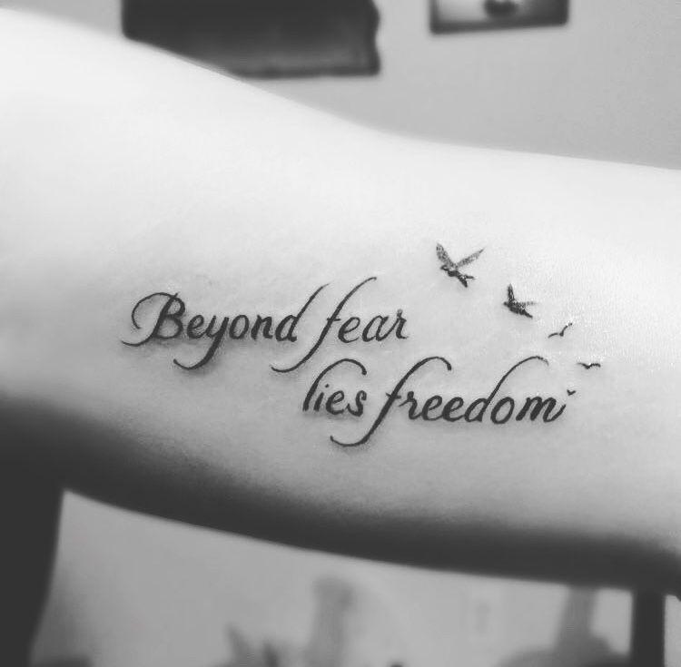 Tattoos Quotes Motivationalquotes Small Freedom Inspirational Small Inspirational Tattoos Small Quote Tattoos Inspirational Tattoos