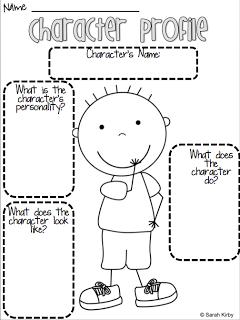character profile sheet