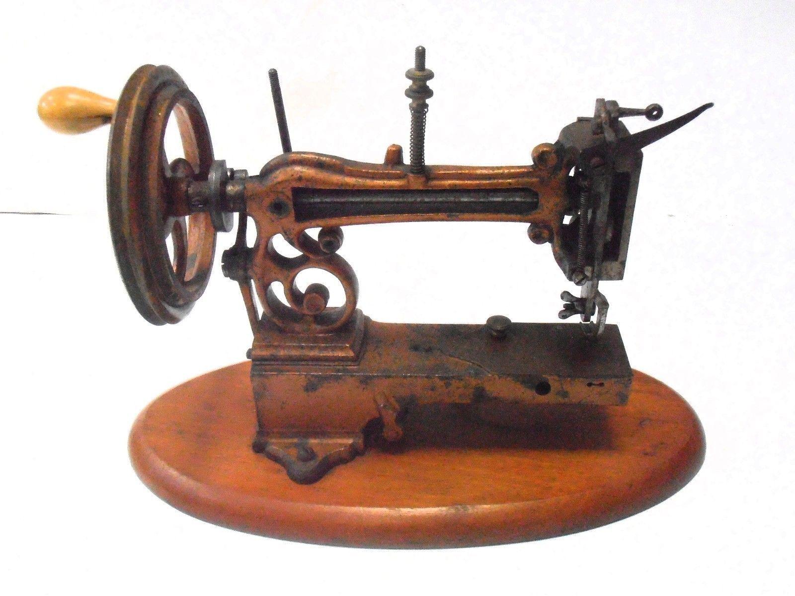 rare antique sewing machine LA INDISPENSABLE circa 1866 macchina da cucire