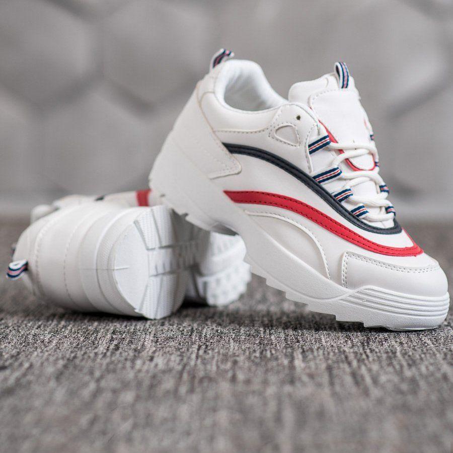 Weide Modne Buty Na Platformie Biale Sport Shoes Shoes Cleats