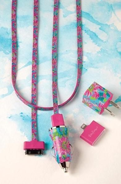 Lilly Pulitzer Charging Kit for iPhone