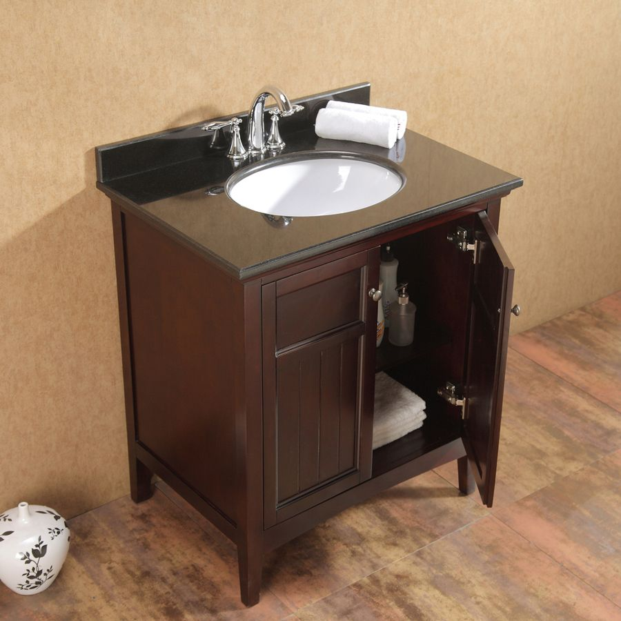 Shop Ove Decors Tobacco Undermount Single Sink Birch Bathroom