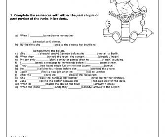 Worksheet Simple Stories Worksheets past simple vs perfect worksheet projects to try worksheet