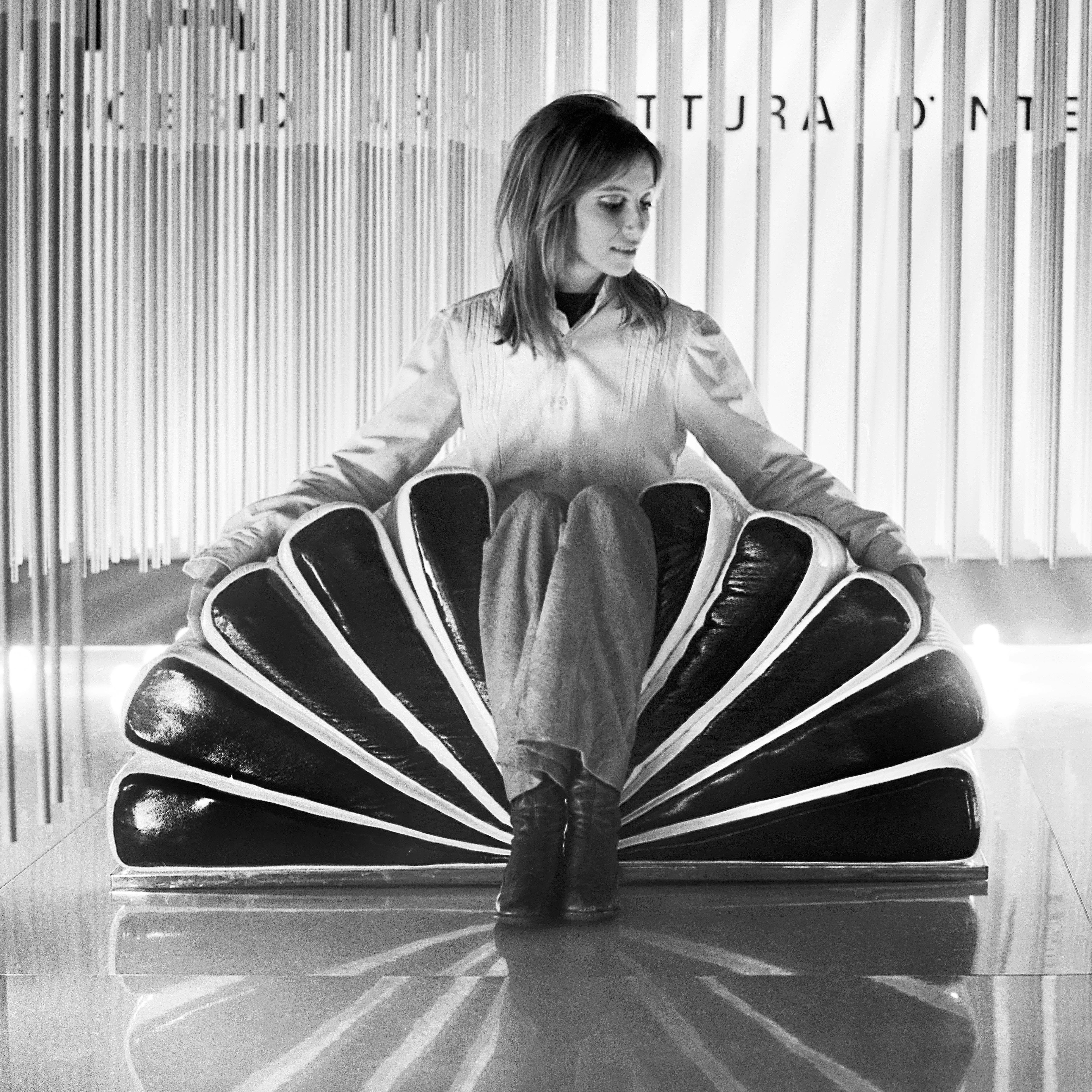 Libro chair designed by Gianni Pareschi and Umberto Orsini     Credit: Università IUAV di Venezia - Archivio Progetti, Fondo Giorgio Casali
