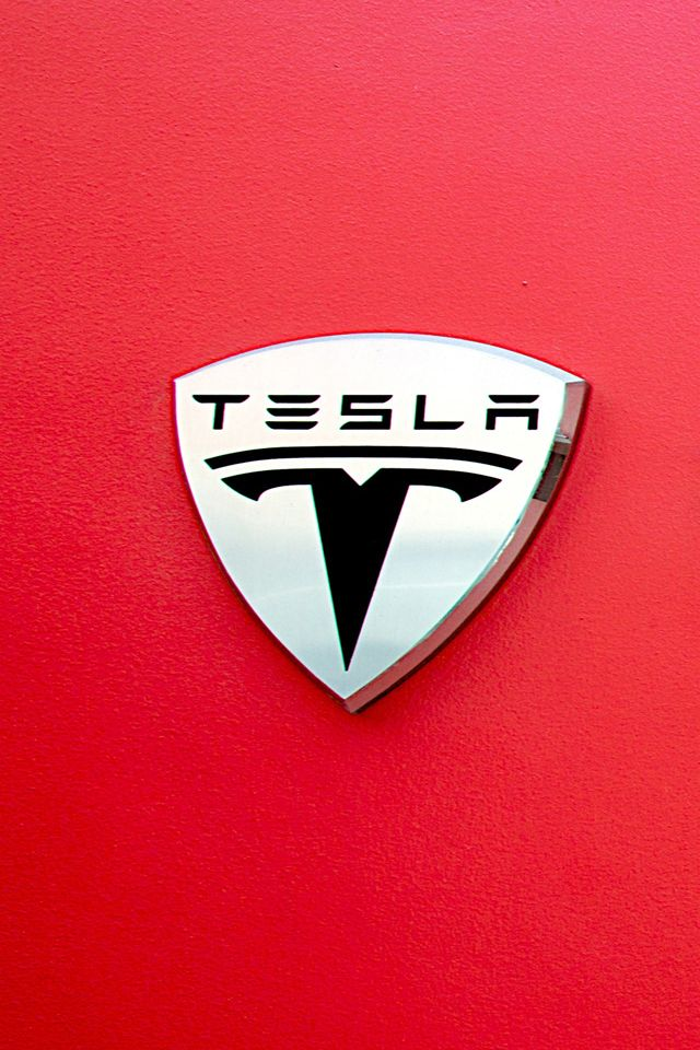 Tesla Logo Wallpaper. tesla car iphone wallpaper
