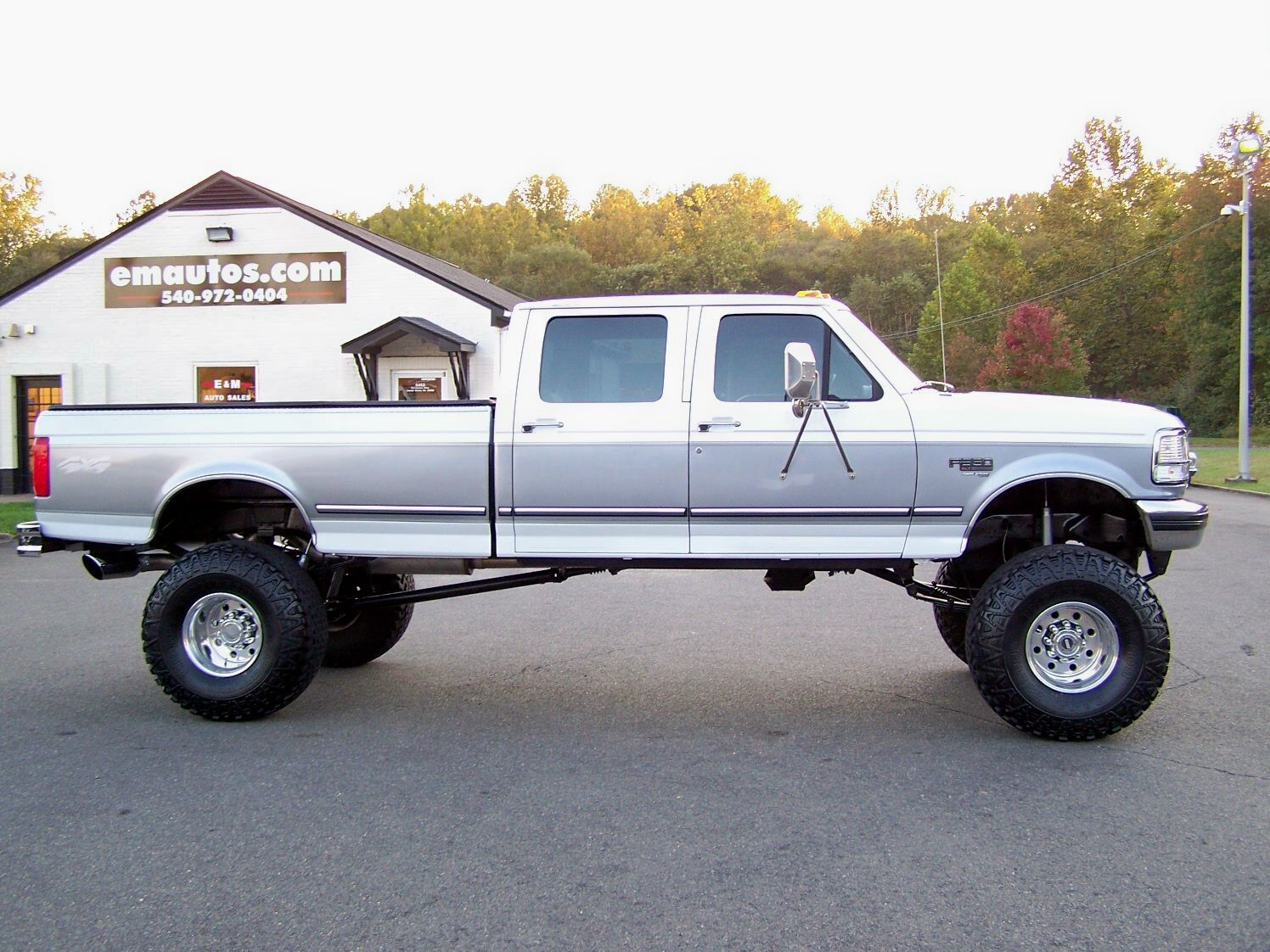 1997 ford f 350 crew cab long bed 4x4 7 3l powerstroke diesel w manual trans. Black Bedroom Furniture Sets. Home Design Ideas