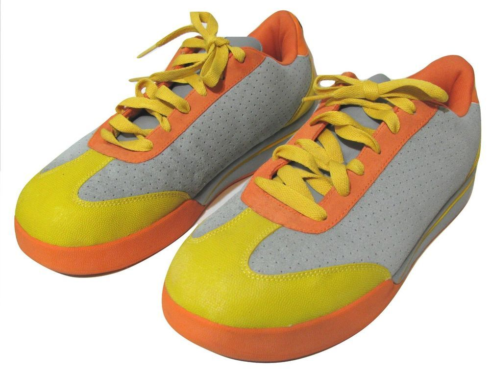 Top Sell - Reebok Ice Cream Pharrell BBC Shoes 11.5 Gray Yellow Skate Board Flip Sneakers