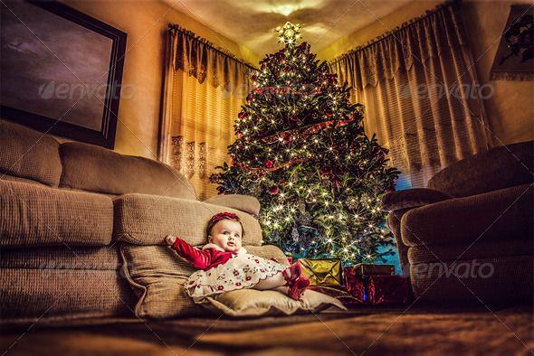 Christmas Present Baby Girl