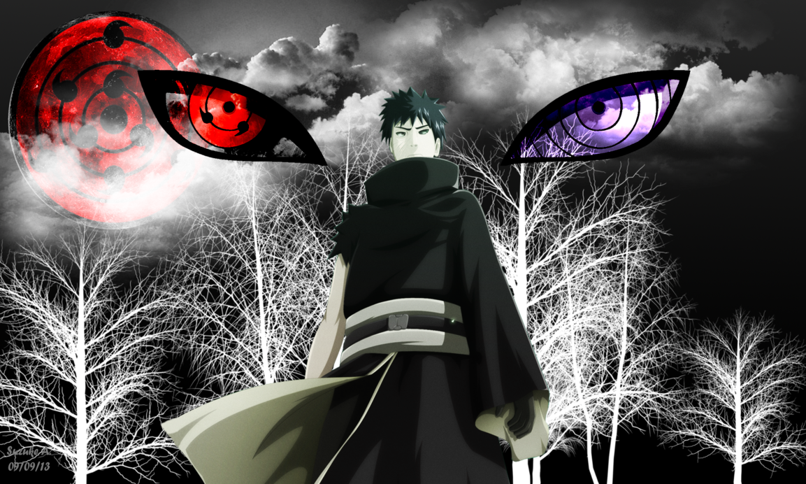 I that this Uchiha have also Mangekyo Sharingan